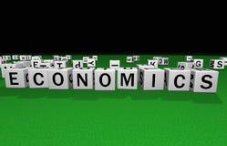 Découpez les sciences économiques Image libre de droits