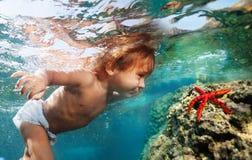 Découverte des trésors sous-marins Photographie stock