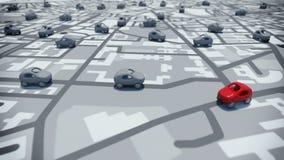 découverte du rendu 3D avec des généralistes illustration de vecteur