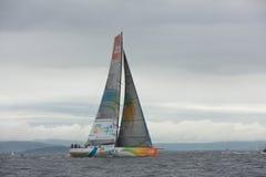 Découvrez le chemin de Dans-Port de l'Irlande Photos libres de droits