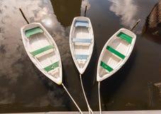 Découvrez le lueneburg - trois petits bateaux images stock