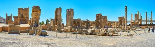 Découvrez les palais de Persepolis, Iran photo libre de droits