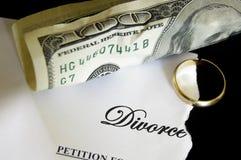 Décret de divorce Photographie stock