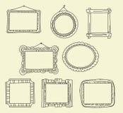 Décrivez les cadres Image stock