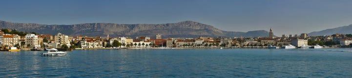 Dédoublez (la Croatie-Dalmatie) photo stock