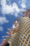 Déesse bouddhiste thaïlandaise chez Wat Plai Leam Temple, Koh Samui, Thaïlande Photos stock