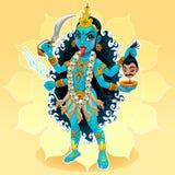 Déesse de Kali illustration de vecteur