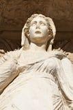 Déesse de Sophia de statue antique de sagesse Photo stock
