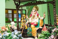Déesse indoue dans Dieu d'hindouisme de succès et de richesse photographie stock