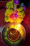 Déesse Lakshmi Image libre de droits