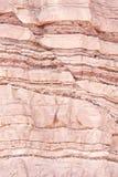Défaut structural de géologie Photo libre de droits