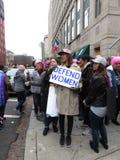 Défendez les femmes image libre de droits