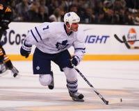 Défenseur d'Ian White Toronto Maple Leafs Images stock