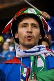 Défenseur italien du football - carte de travail 2010 de la FIFA Photographie stock libre de droits