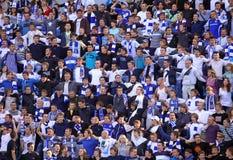 Défenseurs de FC Dynamo Kiev Images libres de droits