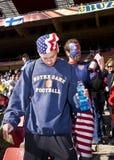 Défenseurs du football des Etats-Unis - carte de travail 2010 de la FIFA Photos libres de droits