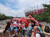 Défenseurs polonais Photo libre de droits