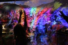 Défi à rêver en couleurs image libre de droits