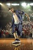 Défi de danseur de hip-hop Photos libres de droits
