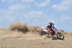 Défi de motocross Images libres de droits