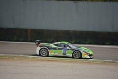 Défi Evo d'Andreas Segler Ferrari 458 à Monza Photos stock