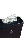 défibreur d'argent comptant Photo libre de droits