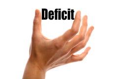 déficit Photos libres de droits