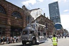 Défilé 1 de Manchester Photographie stock libre de droits