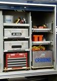 Défilé 14 de camion de pompiers Images stock