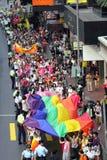 Défilé 2009 de fierté de Hong Kong Images stock