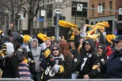 Défilé 2009 de Pittsburgh Steeler Photos stock