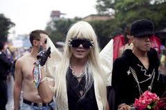 Défilé 2010 de fierté de Taiwan LGBT Images libres de droits