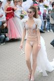Défilé 2010 de mariées Photos libres de droits