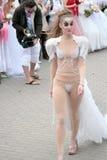 Défilé 2010 de mariées Images stock