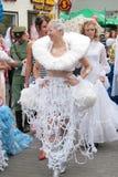 Défilé 2010 de mariées Photos stock