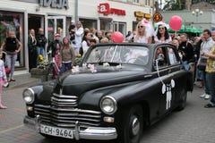 Défilé 2010 de mariées Images libres de droits