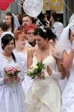 Défilé 2010 de mariées Photographie stock libre de droits