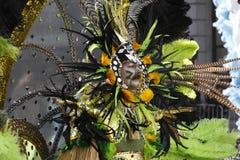 Défilé 2010 de mimes Image libre de droits