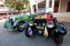 Défilé 2011 de véhicule de cru de Hua Hin Photos stock