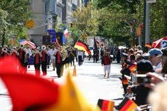 Défilé Allemand-Américain 2009 de Steuben Image libre de droits