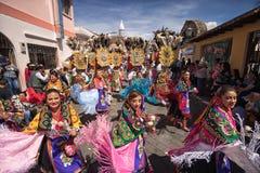 Défilé annuel de Corpus Christi en Equateur Photo libre de droits