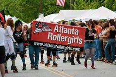 Défilé Atlanta la Géorgie de festival de source de stationnement d'Inman Images stock