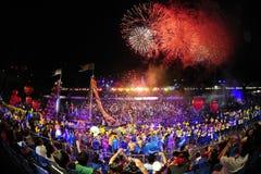 Défilé chingay 2012 de Singapour Photographie stock