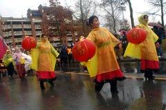 Défilé chinois d'an neuf Photographie stock