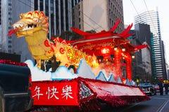 Défilé chinois de l'an 2012 neuf à San Francisco Image libre de droits
