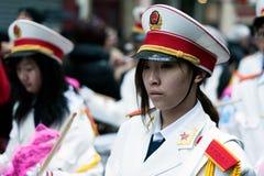 Défilé chinois de nouvelle année à Paris Photographie stock libre de droits