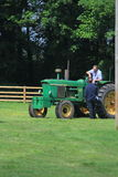 Défilé d'identification de tracteur Photos stock