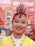 Défilé d'an neuf de Chinatown Images libres de droits