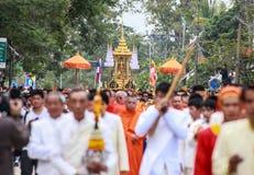 Défilé de Bouddha Image libre de droits