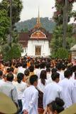 Défilé de Bouddha Photos stock